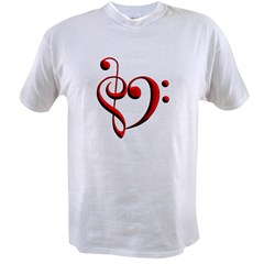 Clef Hear Value T-shirt