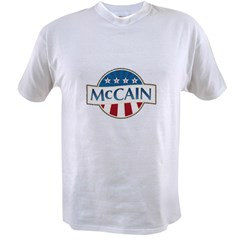 McCain Stars & Stripes Value T-shirt