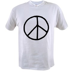 Peace Symbol Value T-shirt