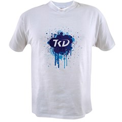TKD Splatter Blue Value T-shirt