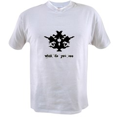 Ink Blot Tes Value T-shirt