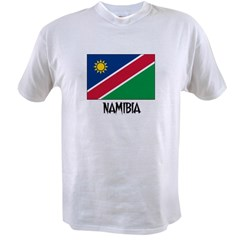 Namibia Flag Value T-shirt