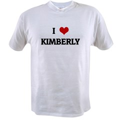 I Love KIMBERLY Value T-shirt