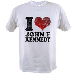 I love John F Kennedy Value T-shirt
