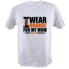 I Wear Orange For My Mom Value T-shirt