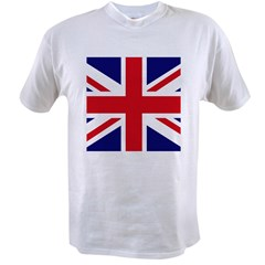 British Flag Union Jack Value T-shirt