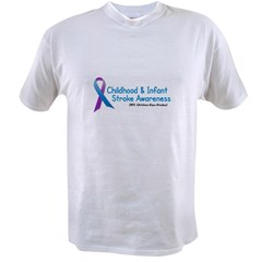 Childhood Stroke Awareness 1 Value T-shirt