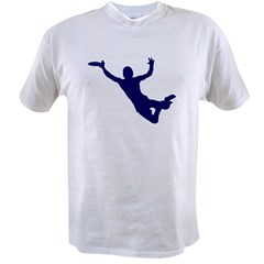 BLUE DISC CATCH Value T-shirt