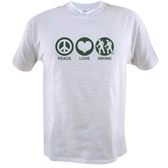 Peace Love Hiking Value T-shirt