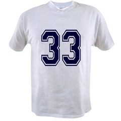 NUMBER 33 FRON Value T-shirt