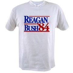Reagan Bush 1984 Value T-shirt