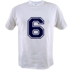 NUMBER 6 FRON Value T-shirt