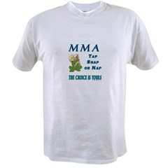 MMA Teddy Bear Value T-shirt