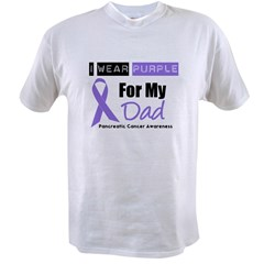 I Wear Purple For My Dad Value T-shirt