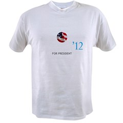 OBAMA12LOGOTTR Value T-shirt
