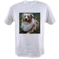 Red Merle Aussie Value T-shirt