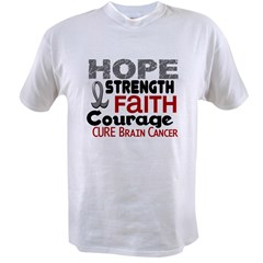 HOPE Brain Cancer 3 Value T-shirt
