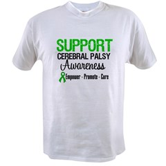 Cerebral Palsy Value T-shirt