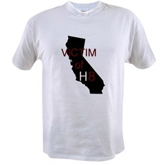 cal victim h8 with transparent smaller.tif Value T-shirt
