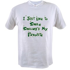 Smiling's My Favorite Value T-shirt