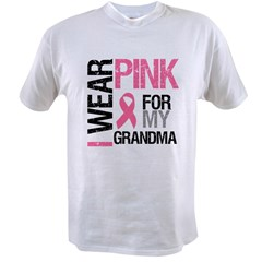 I Wear Pink (Grandma) Value T-shirt