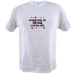 Loves Me in Iraq Value T-shirt