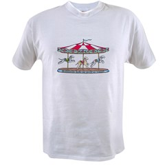 Bedlington Carousel Value T-shirt