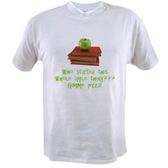 Teacher's Apple Value T-shirt