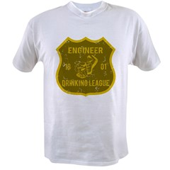 Engineer Drinking League Value T-shirt