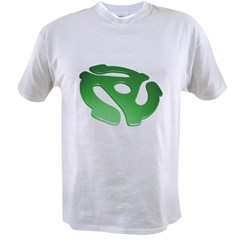 green-3d-45-rpm-adapter-dk Value T-shirt