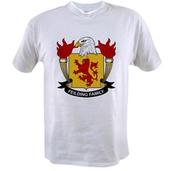 Feilding Family Crest Value T-shirt