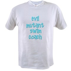 Evil Mutant Swim Coach Value T-shirt