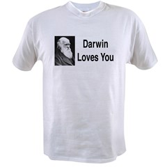 Darwin Loves You Value T-shirt