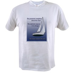 Adjust the sails Value T-shirt