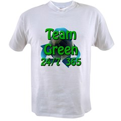 Team Green 24/7 365 Value T-shirt