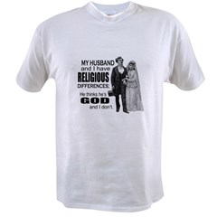 Religious Differences Value T-shirt