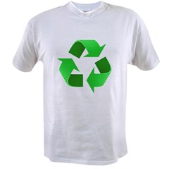 Environmentalist Go Green Tip Value T-shirt