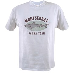 Montserrat Scuba Team Value T-shirt