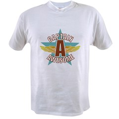 Captain Awesome 2 Value T-shirt