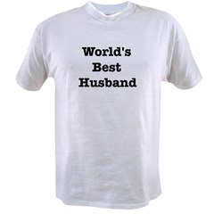 Worlds Best Husband Value T-shirt