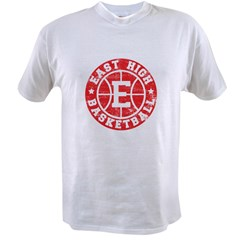 East High Basketball Value T-shirt