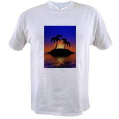 sunrise-sunset--palm-tree-s.jpg Value T-shirt