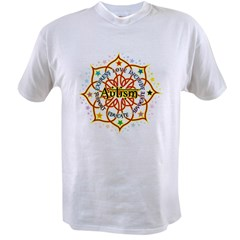 Autism Lotus Value T-shirt