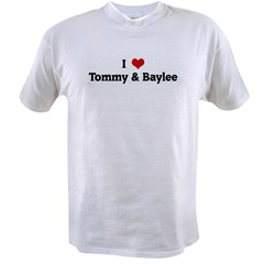 I Love Tommy & Baylee Value T-shirt