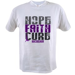 HOPE FAITH CURE Anorexia Value T-shirt