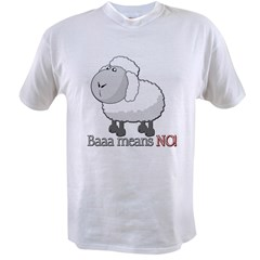 Baaa means NO! Value T-shirt