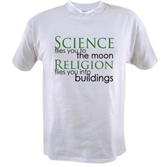 Science and Religion Value T-shirt