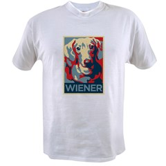 Vote Wiener! Value T-shirt