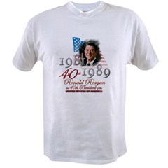 40th President - Value T-shirt