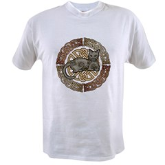 Celtic Cat Value T-shirt